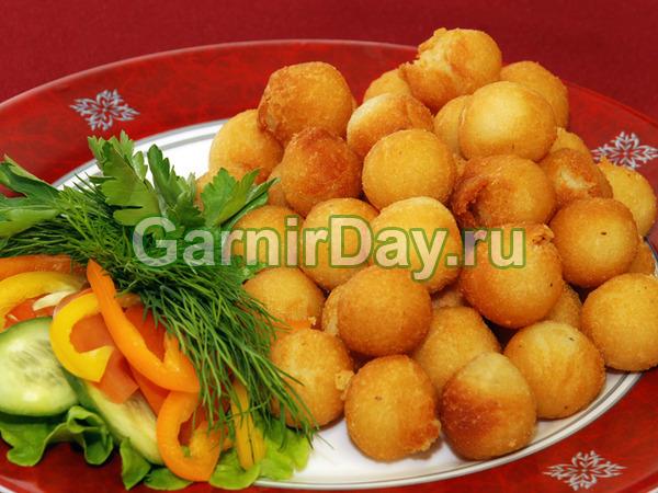 Простые картофельные шарики из пюре